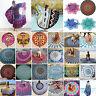 Mandala Hippie Strandtuch Yoga Matte Runde Wandbehang Tapisserie Blume Matte Neu