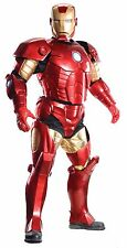 Halloween MARVEL AVENGERS IRONMAN SUPREME EDITION ADULT MEN JUMPSUIT COSTUME NEW