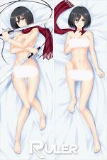 Anime Dakimakura Pillow Case Attack on Titan Mikasa Ackerman YC090