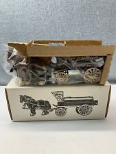 NEW Ertl Baltimore Gas & Electric Co. Horse Wagon Tanker Bank 1990 Die cast 9566