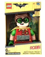 Lego 9009358 Kids The Batman Movie ROBIN Figure Digital Alarm Clock DC Comics