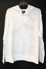 COOL NEW WOMENS PLUS SIZE 3X WHITE NETTED MESH ACTIVE/BEACH PULL OVER ON HOODIE