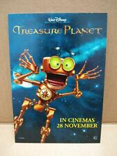 Treasure Planet Cartoon Robot Movie Advertisement Singapore Postcard (C573)