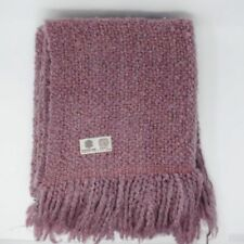 Kennebunk Home Decorative Camelot Throw Blanket Fringe Iris Knit Throw USA Made