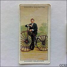 John Player Cycling #5 Michaux Velocipede 1939 Cigarette Card (CC32)