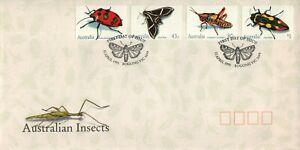 1991 Australian Insects Postmark 11-4-91 Bogong [P91-017]