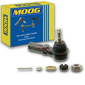 MOOG Outer Steering Tie Rod End for 1997-2005 Cadillac DeVille Gear Rack ij