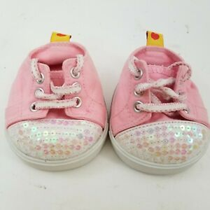 Build-A-Bear Shoes Sneakers Pink Converse BABW