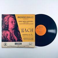 Decca LXT 2926 Orange/Gold Label Ed1 Bach Cantana No 51 & No 202 Danco SCO