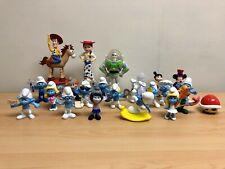 McDonald's Happy Meal Toys - Smurfs - Toy Story - Disney - Mario