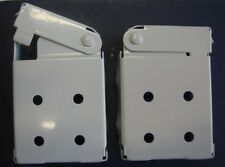 Low Profile Mounting Brackets for Faux & Wood Horizontal Blinds (1 Pair)