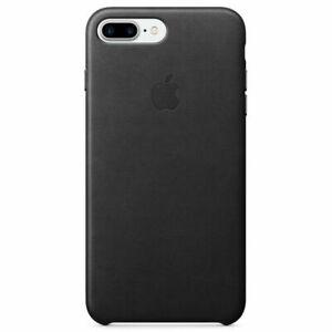 Apple iPhone 8 Plus / 7 Plus Leather Case — Black GENUINE MQHM2X/A NEW