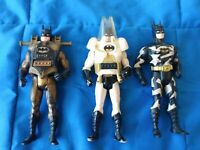 1990's Kenner THE DARK KNIGHT Batman ARTIC, TECH, AIR ATTACK Lot of 3 figures