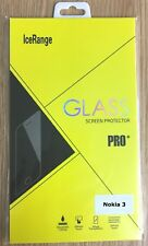 genuine tempered glass screen protector cover for nokia 3