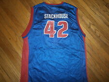 JERRY STACKHOUSE DETROIT PISTONS 42 JERSEY Basketball NBA Champion Youth XL