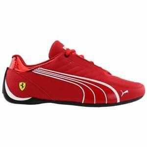 Puma Kart Cat X Scuderia Ferrari Lace Up  Mens  Sneakers Shoes Casual