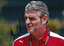 Maurizio Arrivabene Ferrari F1 autograph, In-Person signed 5X7 inch photo
