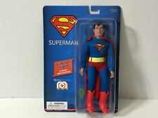 """MEGO Heroes DC SUPERMAN  8"""" Action Figure - 14 Point Articulation! #62817"""