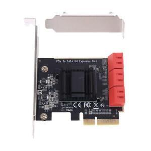 PCIE SATA 3.0 PCI-E SATA Card PCI E PCI Express SATA Controller 6-Ports SATA3 X4