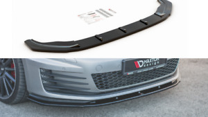 FRONT SPLITTER V.1 FOR VW GOLF MK7 GTI (2013 - 2016)