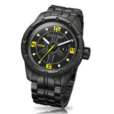 Black Swiss Watch Wryst Ultimate ES40 Limited Edition With Black DLC Coating