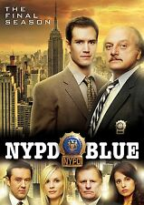NYPD BLUE: Season Twelve 12, FINAL SEASON NEW (DVD, 2017, 5-Disc Set)US Seller