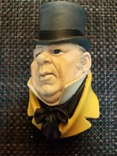 Vintage 1964 Mr. Micawber Bossons Chalk Chalkware Made In England #22