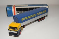 @. LION CAR DAF 2800 TRUCK WITH TRAILER FRANS MAAS NEAR MINT BOXED