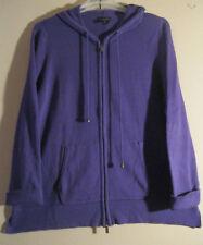 Lane Bryant 1X 18 20 Cardigan Sweater Hoodie Purple  STYLISH AND HANDY CARDIGAN!