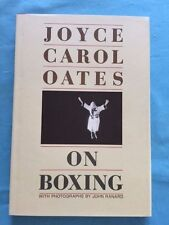 ON BOXING - SIGNED BY JOYCE CAROL OATES