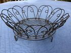 Unusual Vintage Curved Wire Basket/Tray; Made in Germany