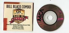 Vintage BILL BLACK COMBO 3-INCH cd-maxi 1989 MCA DON'T BE CRUEL Smokie Part 2