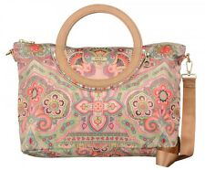 Oilily Folding City Handbag Tasche Handtasche Umhängetasche Beige Neu