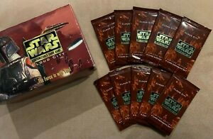 Star Wars CCG Cloud City Limited Edition Booster (10 Packs) Factory Sealed