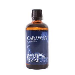 Mystic Moments | Caraway Essential Oil - 100% Pure - 100ml (EO100CARA)