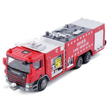 1/50 Scale Diecast Fire Engine Rescue Trucks Alloy Vehicle Model Toys for Kids