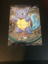 WARTORTLE #8 Pokemon Trading Card 2000 Topps Chrome TV  NM Pack Fresh