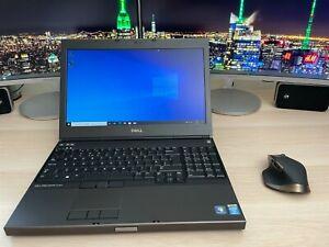 """Dell Precision M4800 i7 2.9GHz, 256 SSD, 8 RAM, 15.6"""", Win 10 Pro, Quadro K2100"""