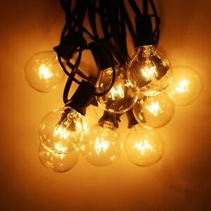 25Pcs Bulb String Light For Party Garland And Wedding Garden Party Fairy Vintage