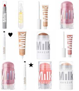 MILK MAKE-UP lipstick highlighter bronzer serum foundation concealer