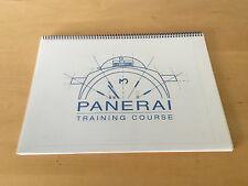 PANERAI Atelier de formation Ordinateur portable Training Cours 2001 Espagnol