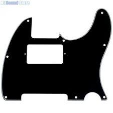 HUMBUCKER 3-Ply BLACK Pickguard for Fender® Telecaster USA Standard Tele 8 Hole
