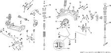NISMO Rear A Arm Set (reinforced)  For Skyline GT-R (BNR34) RB26DETT 55550-RS591