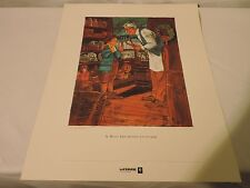 LIMITED EDITION PRINT A Most Important Customer Christmas LeFebure