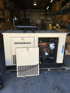 20 KW Generac Generator Natural Gas Perfect for a home 4 clylinder GM 2.5