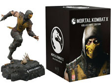 MORTAL KOMBAT X SCORPION STATUE ACTION FIGURE COLLECTOR'S EDITION BMIB 11 ''
