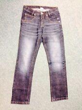 Tom Tailor Jeans Extra Skinny Dunkelblau Used Denim 176 XL Bund Verstellbar 1A