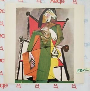 Pablo Picasso Tipped In Print Femme Assise