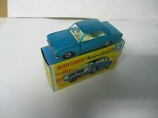 Matchbox Lesney Superfast SF25 Ford Cortina- blue, boxed