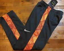 Nike Therma Dri-Fit Sweatpants - Little Boy's Size 6 (gray/orange) Nwt $38